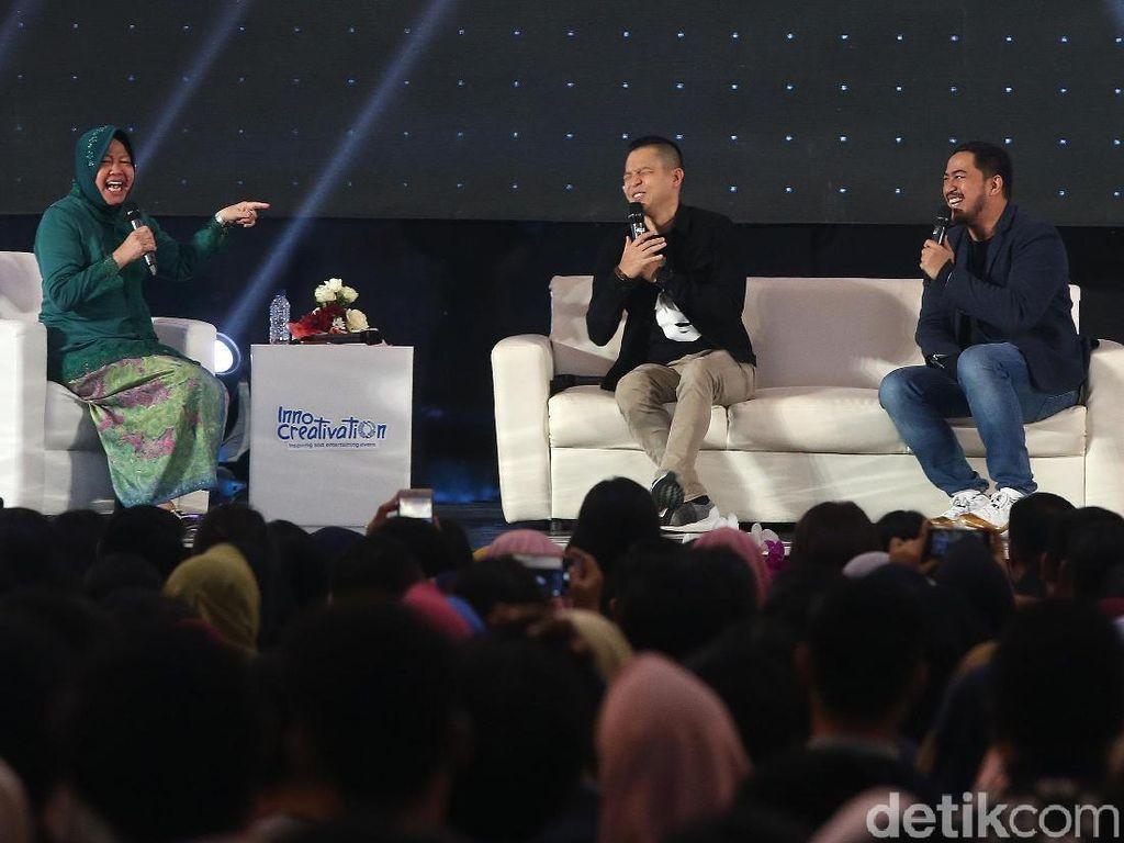 Cara Wali Kota Risma Bikin Warga Surabaya Melek Startup