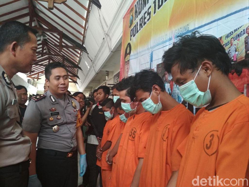 6 Penyerang Mahasiswa IAIN Tulungagung Dibekuk, 2 di Bawah Umur