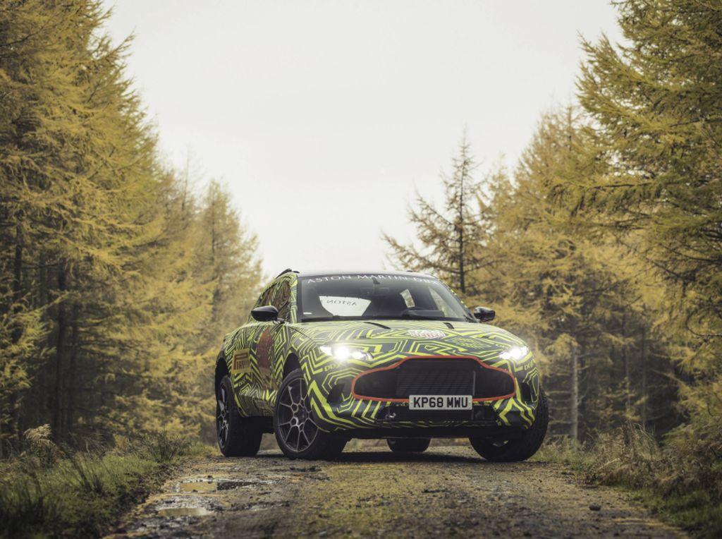 Intip Mobil SUV Mewah Inggris, Aston Martin DBX