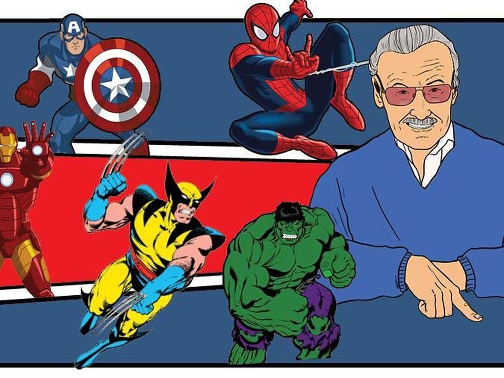 Biografi A Marvelous Life Ungkap Perjalanan Stan Lee
