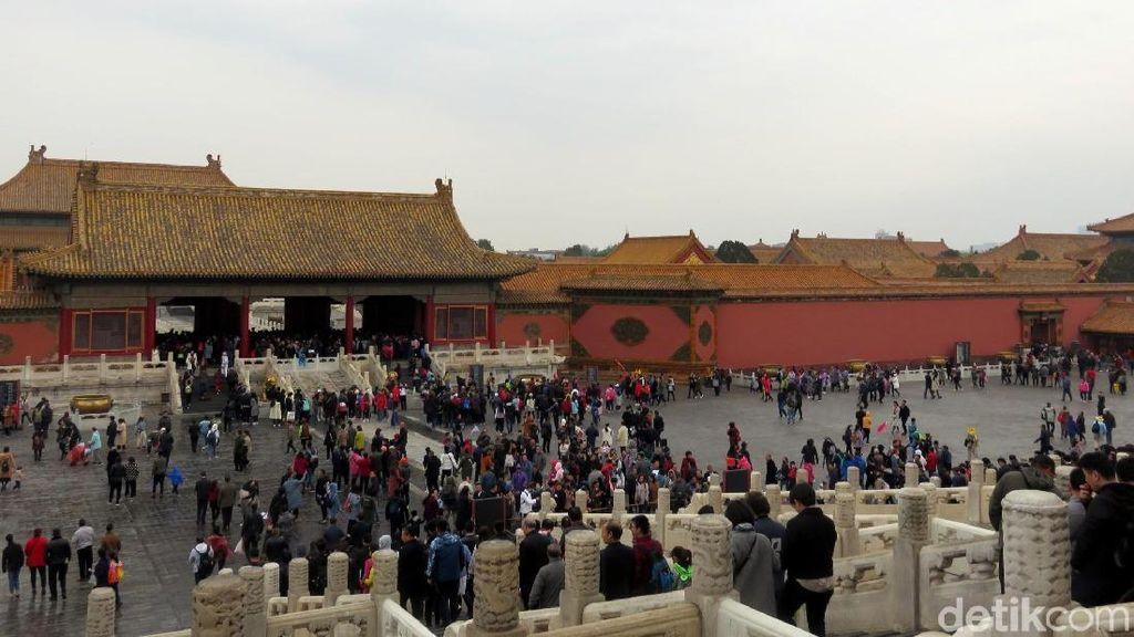 Potret Istana Kekaisaran Terbesar di Dunia