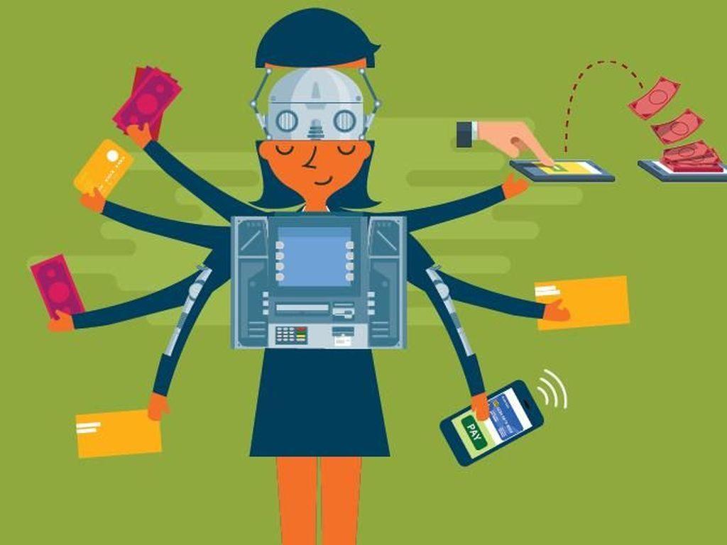 Bank Disebut Beralih ke Robot, BNI: Tetap Banyak Pakai Manusia
