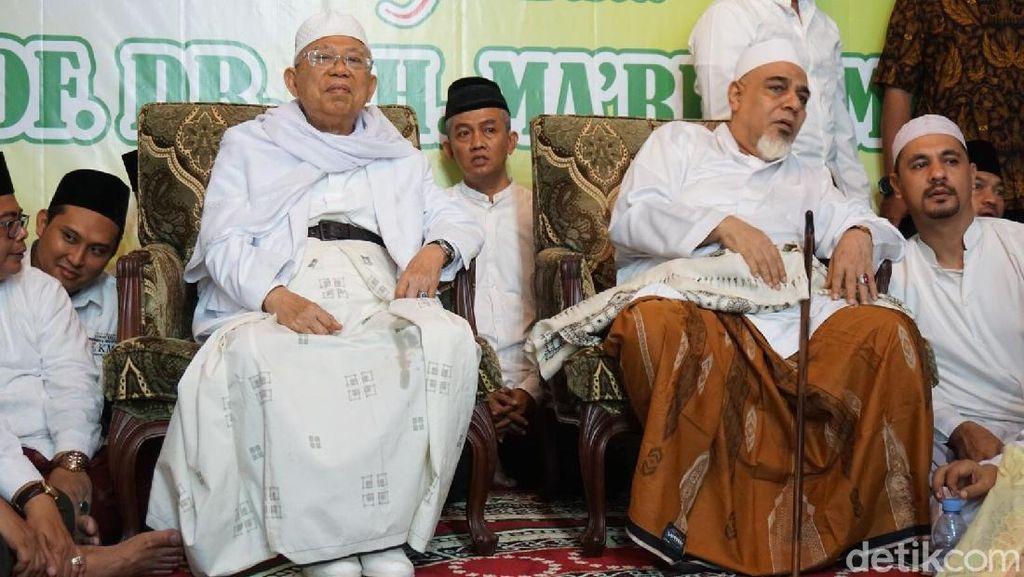 Maruf Amin: Ada Tsunami Hoax, Semoga Kita Diselamatkan Allah SWT