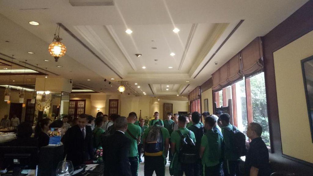 Timnas Indonesia Bertolak ke Thailand, Hansamu: Doakan Kami
