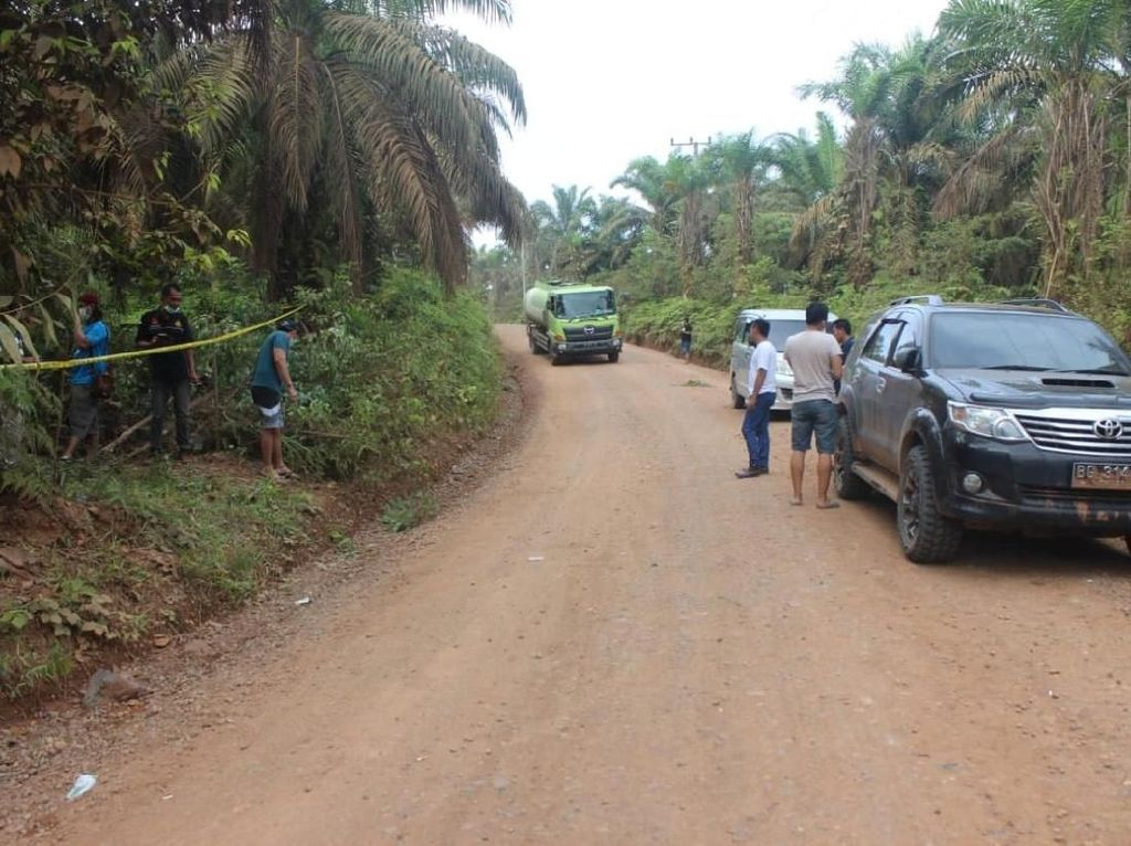 Ini Lokasi Penemuan Tulang Belulang Sopir GrabCar yang Dibunuh