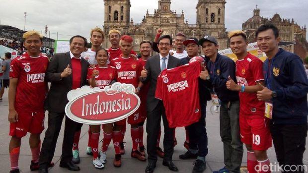 Usai Dikalahkan Polandia, Indonesia Hantam Prancis 9-2