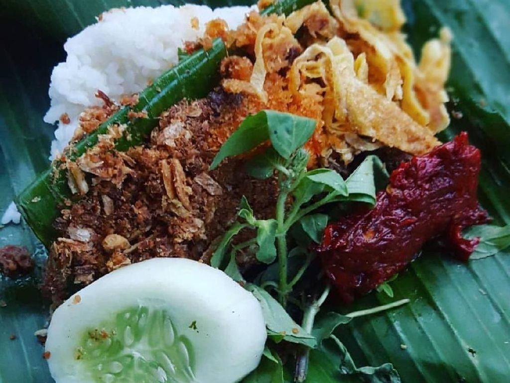 Lapar Berat? Yuk, Sarapan Nasi Langgi, Ramesan Nasi Plus Aneka Lauk