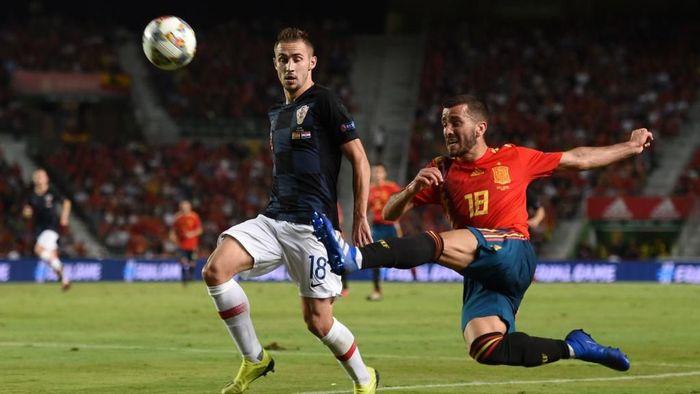Kroasia akan menghadapi Spanyol dalam lanjutan UEFA Nations League (Foto: Denis Doyle/Getty Images)