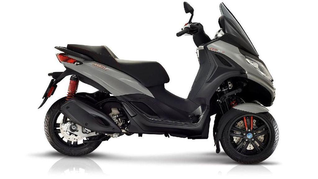 Desain Piaggio MP3 yang Kini Punya Sayap seperti Motor MotoGP