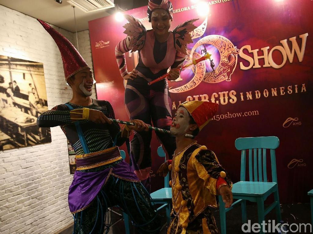 Sirkus The Great 50 Show Segera Digelar