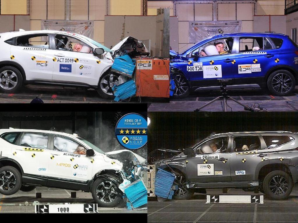 Penampakan Crash Test Mobil-mobil SUV di Indonesia