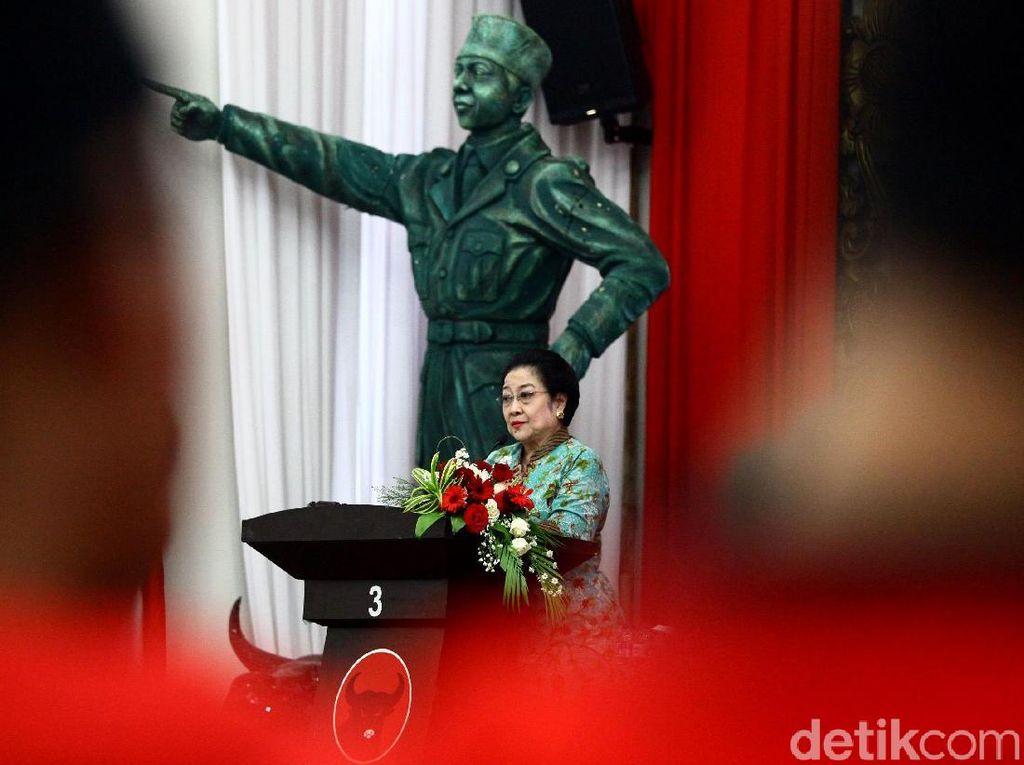 Megawati Resmi Buka Sekolah Caleg PDI Perjuangan