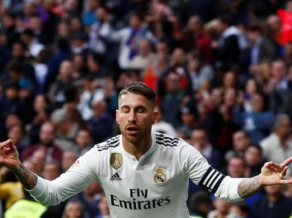 Bersih! Sergio Ramos Tanpa Kartu Merah di 2018