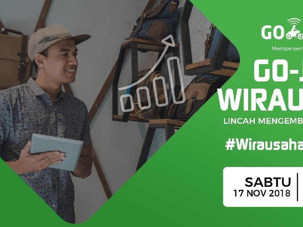 Arek Suroboyo, Yuk Ikut Workshop UKM Bareng detikcom dan Go-Jek