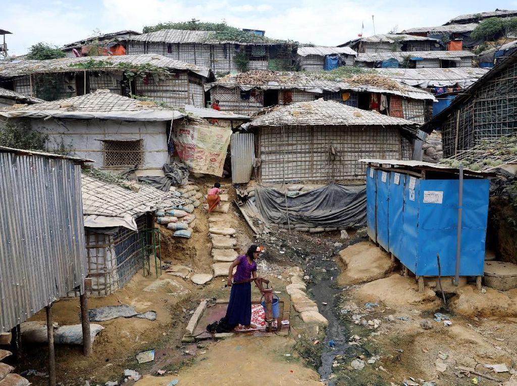 Lebih dari 800 Pengungsi Rohingya di Bangladesh Kena Wabah Cacar Air