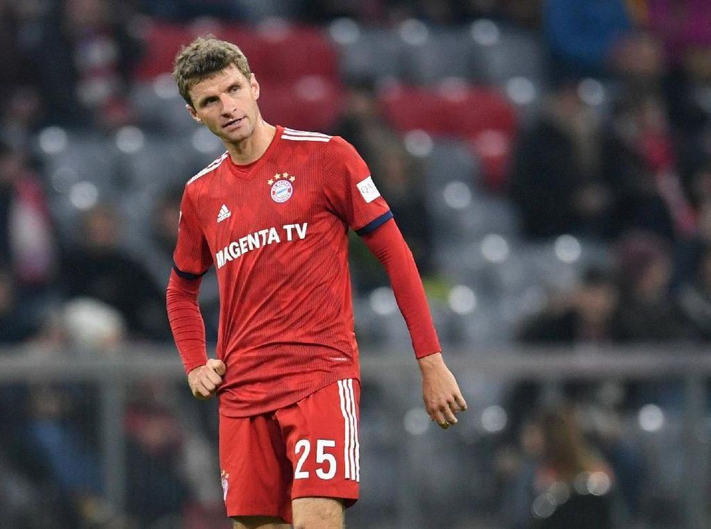 Bayern Senang dengan Reaksi Frustrasi Mueller, tapi ...