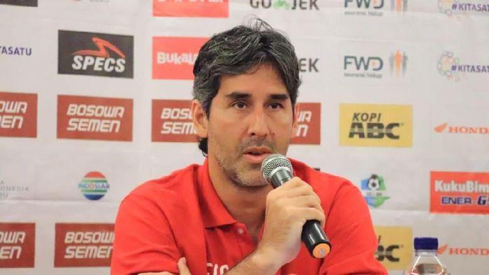Stefanio Cugurra Teco merasa keputusan perubahan status tuan rumah laga Bali United vs Persija adalah hal yang adil (Foto: dok. Persija Jakarta)