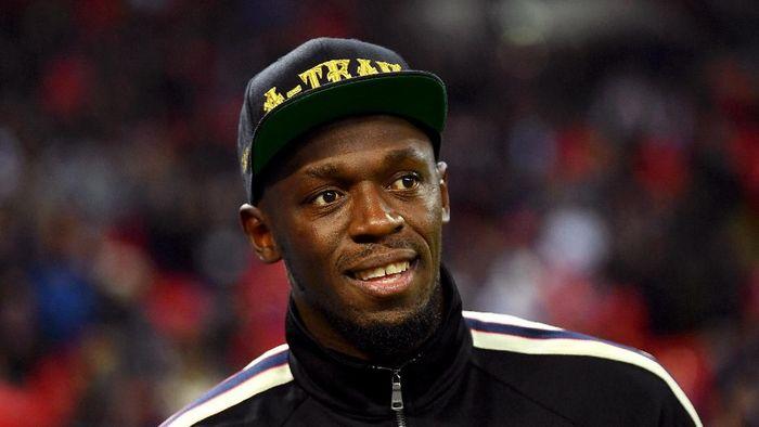 Usain Bolt belum juga mendapat klub sepakbola keinginannya (Mike Hewitt/Getty Images)