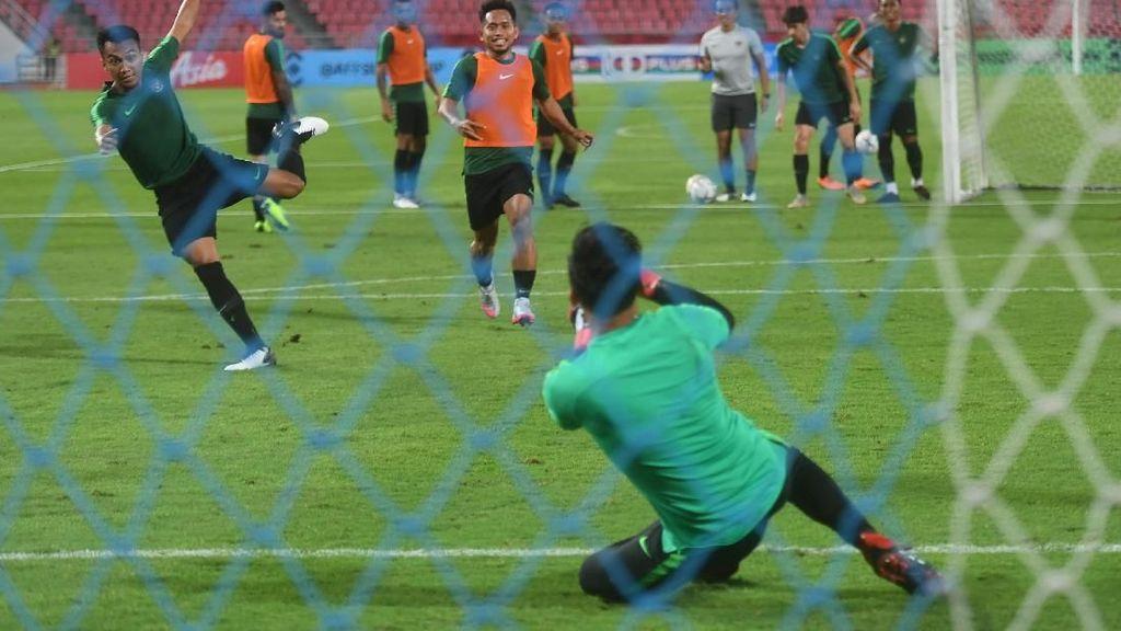 Hadapi Thailand, Skuat Garuda Jajal Stadion Rajamangala