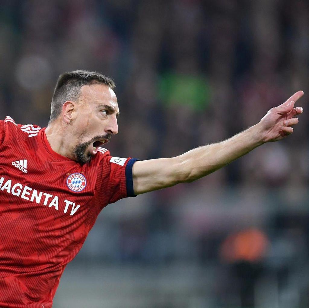 Bertengkar dengan Pandit TV, Ribery Minta Maaf
