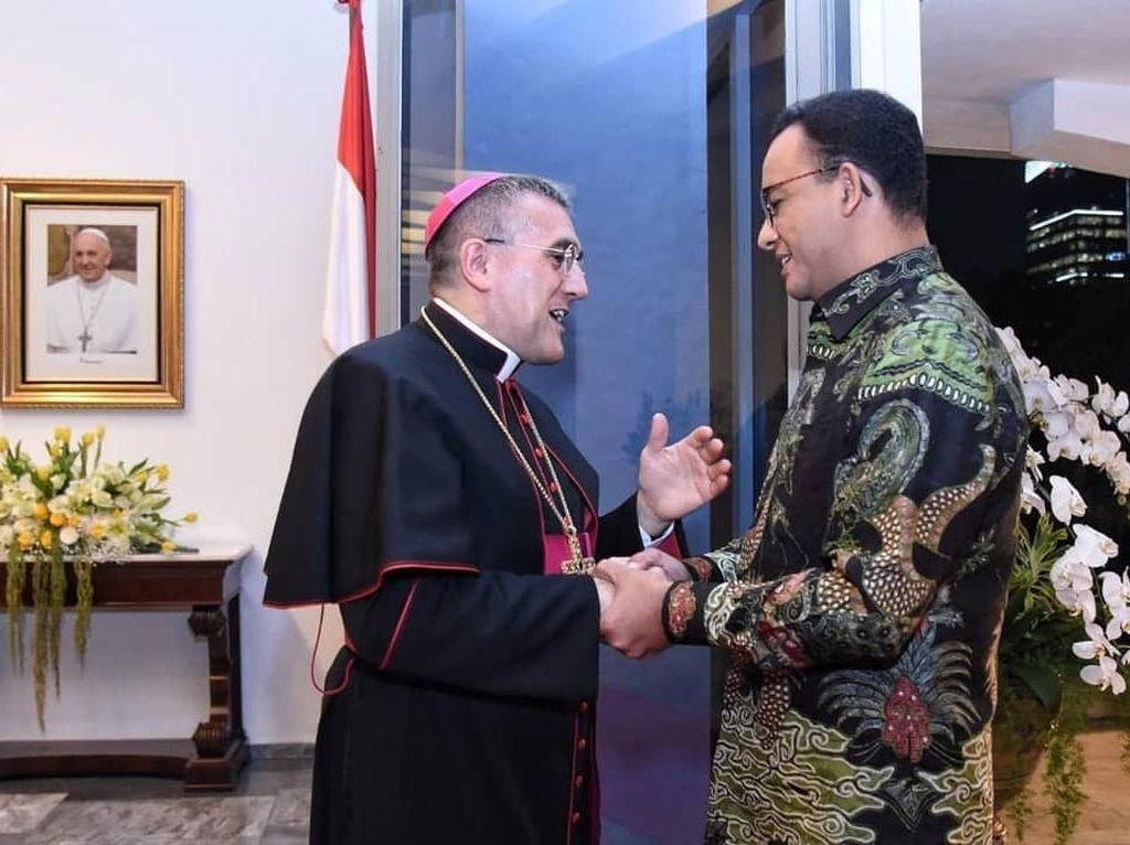 Cerita Anies soal Persahabatan Jakarta dan Vatikan