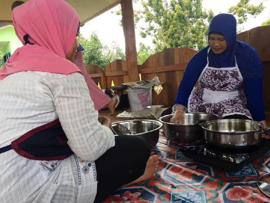 Listrik Non Stop, Emak-emak di Belitung Beralih ke Kompor Listrik