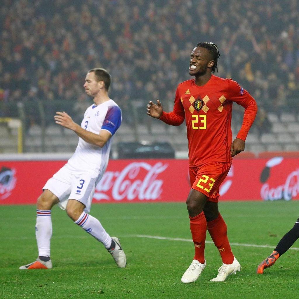 Batshuayi Menangkan Belgia atas Islandia di Laga UEFA Nations League