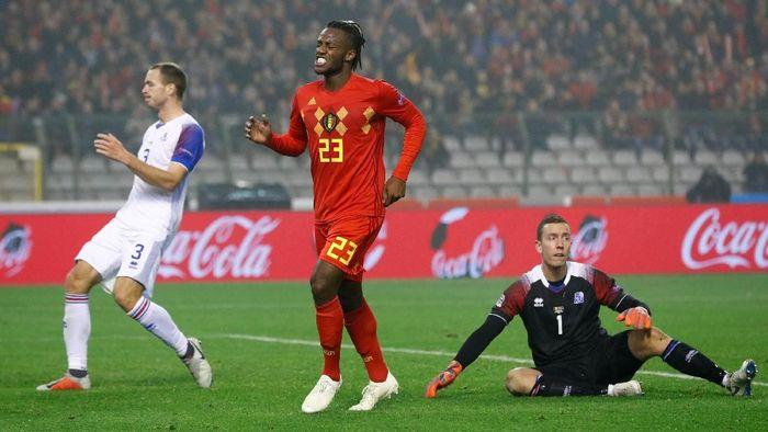 Belgia mengalahkan Islandia 2-0 di pertandingan UEFA Nations League. (Foto: Francois Lenoir/Reuters)