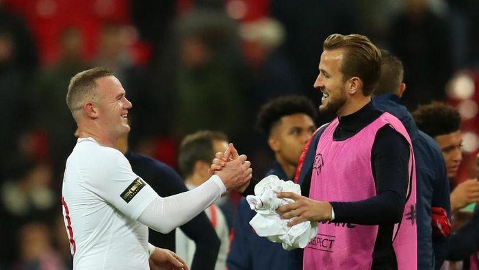 Wayne Rooney minta Harry Kane pecahkan rekor golnya di Timnas Inggris (Catherine Ivill/Getty Images)