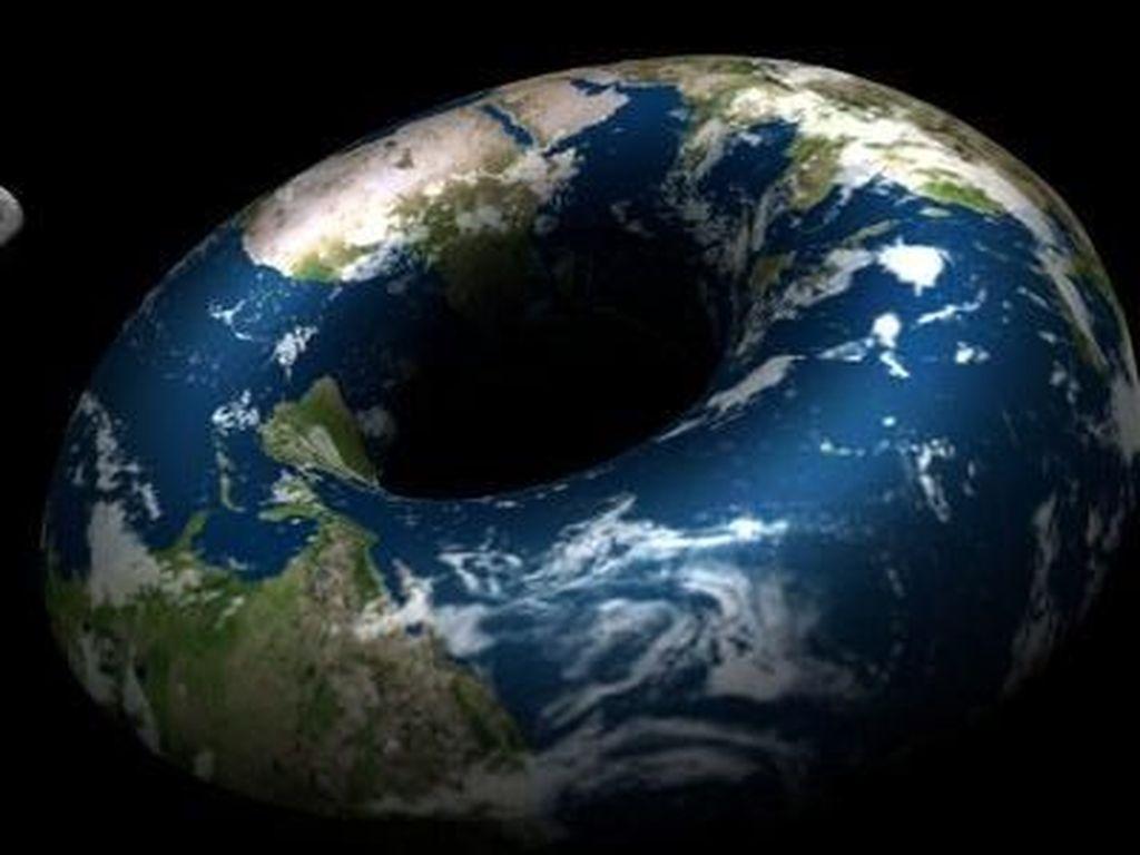 Muncul Lagi Teori Baru, Bumi Berbentuk Donat