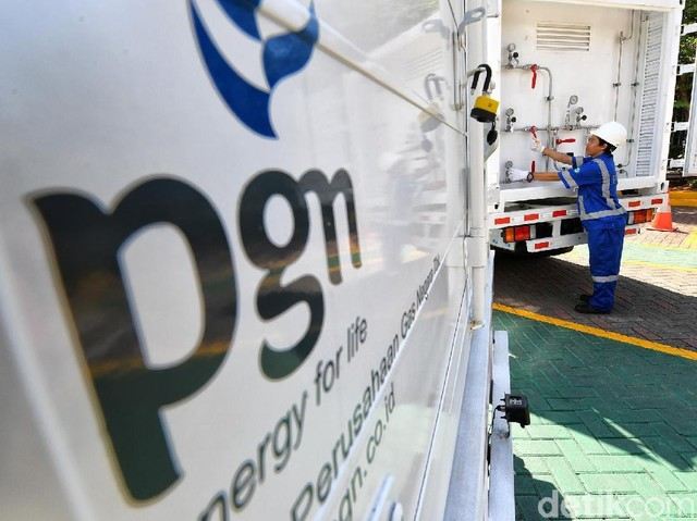 PGN Sebar 32 Unit Truk Gaslink