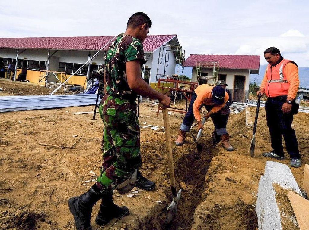 Pembangunan Sekolah untuk Korban Gempa Palu