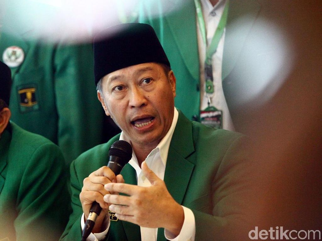 Ketum PPP Muktamar Jakarta Prihatin Romahurmuziy Kena OTT KPK