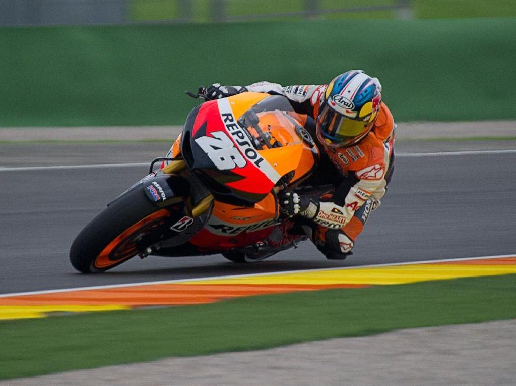 Video Aksi Hebat Pedrosa, Juara MotoGP Valencia 2012 Meski Start dari Pit Lane