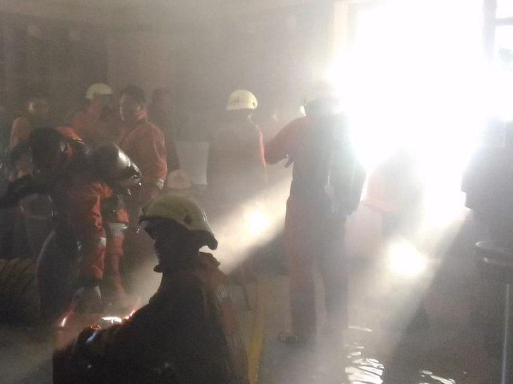 Tak Ada Korban Akibat Kebakaran di Kementerian Pertahanan