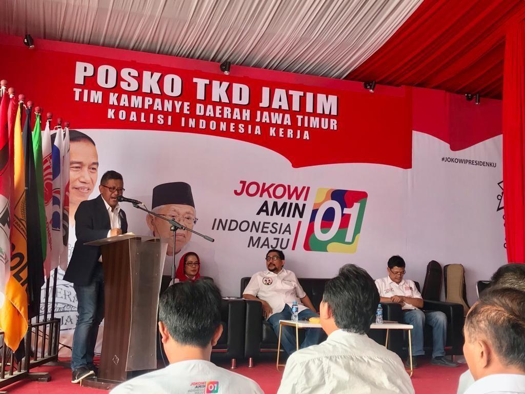 Caleg Parpol Koalisi yang Tak Kampanyekan Jokowi Terancam Dipecat