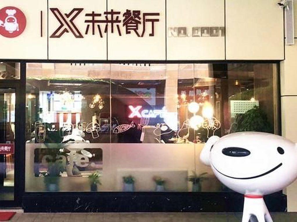 Keren! Ini Dia Restoran Robotik Pertama di China yang Futuristik