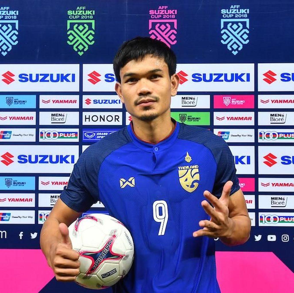 Thailand Vs Indonesia, Topskorer Piala AFF Ini Dibayangi Cedera