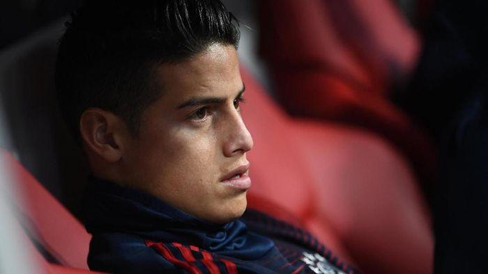 James Rodriguez tertarik pindah ke Napoli. (Foto: Andreas Gebert/Reuters)