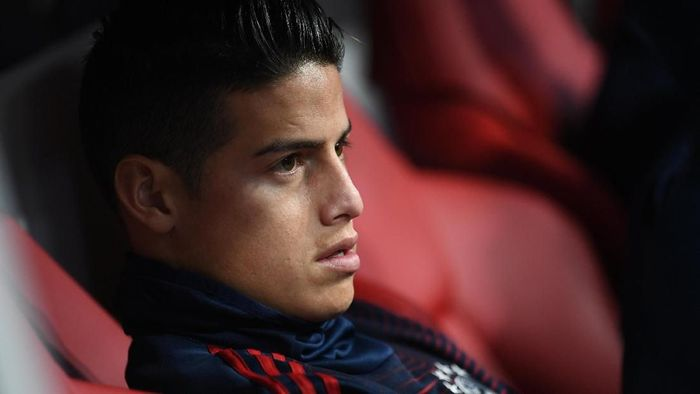 Bayern Munich kabarnya tak berniat untuk memermanenkan status James Rodriguez (Foto: Andreas Gebert/Reuters)