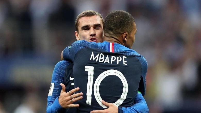 Kalahkan Griezmann, Mbappe Pemain Terbaik Prancis 2018
