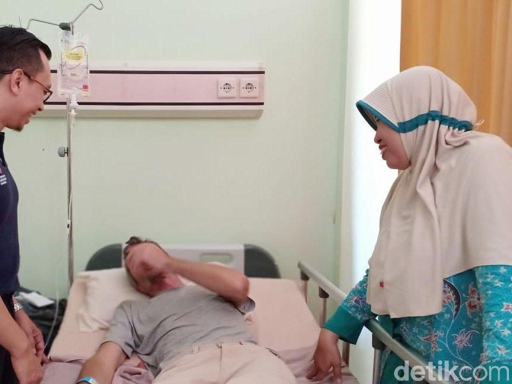 Diare Sembuh, Kondisi Bule Rusia yang Kesasar di Probolinggo Membaik