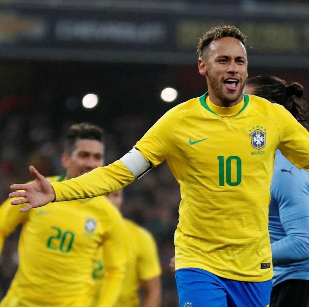 Brasil Menang Tipis Atas Uruguay