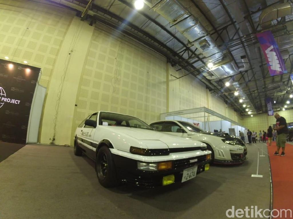 Gokil, Sang Legenda Toyota AE86 Trueno Hadir di IMX 2018