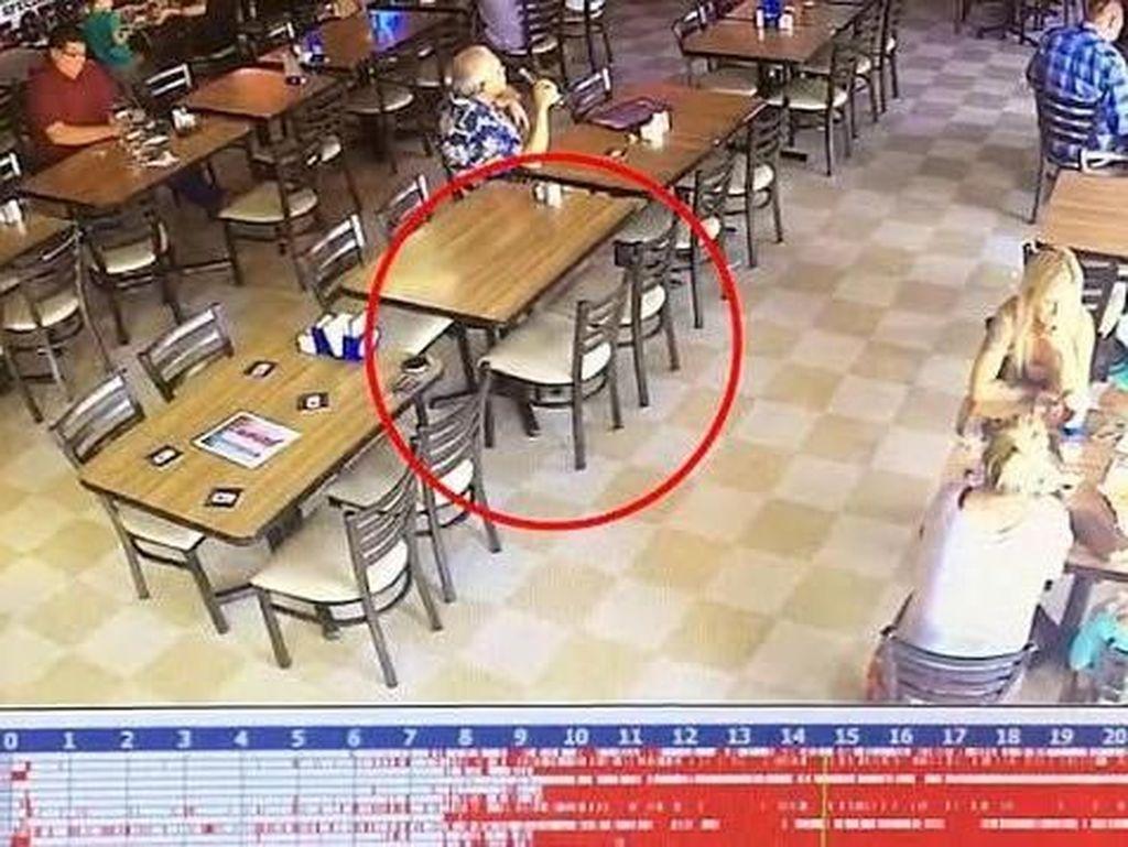 Restoran Berhantu Ini Tangkap Penampakan Seram Lewat CCTV