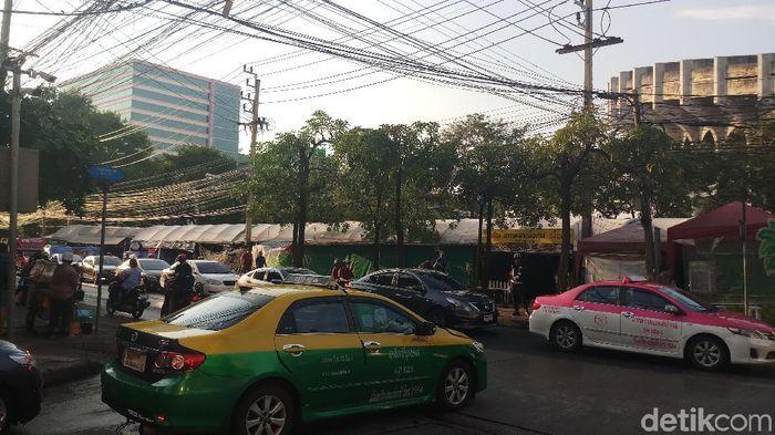 Suasana kota Bangkok jelang duel Thailand kontra Indonesia di Piala AFF 2018 (Yanu Arifin/Detiksport)