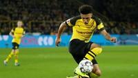 Jadon Sancho jadi salah satu nama incaran Manchester United. Tapi untuk mendatangkanwinger Borussia Dortmund itu diperkirakan takkan murah, bisa membutuhkan dana hingga 100 juta pound sterling. (Foto: Leon Kuegeler/Reuters)