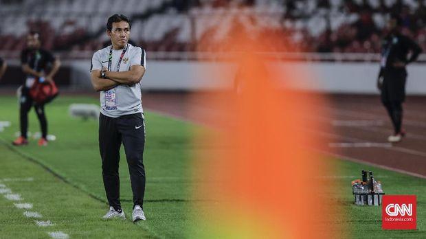 Bima Sakti mengatakan para pemainnya harus tampil total pada laga terakhir Timnas Indonesia melawan Filipina. (