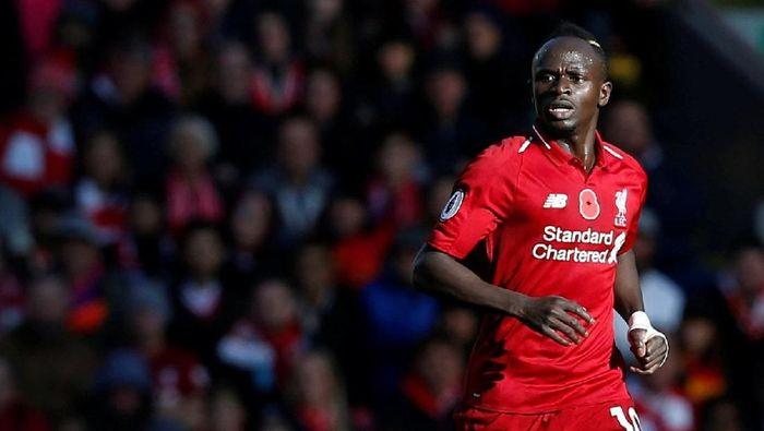 Sadio Mane kini jadi pemain serba bisa di Liverpool (Russell Cheyne/REUTERS)
