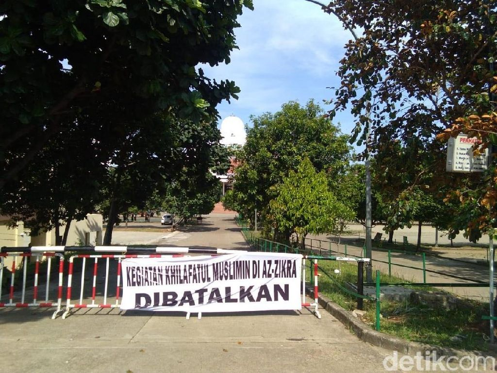 Diskusi Khilafah Tak Diizinkan, Polisi Berjaga di Az-Zikra Bogor